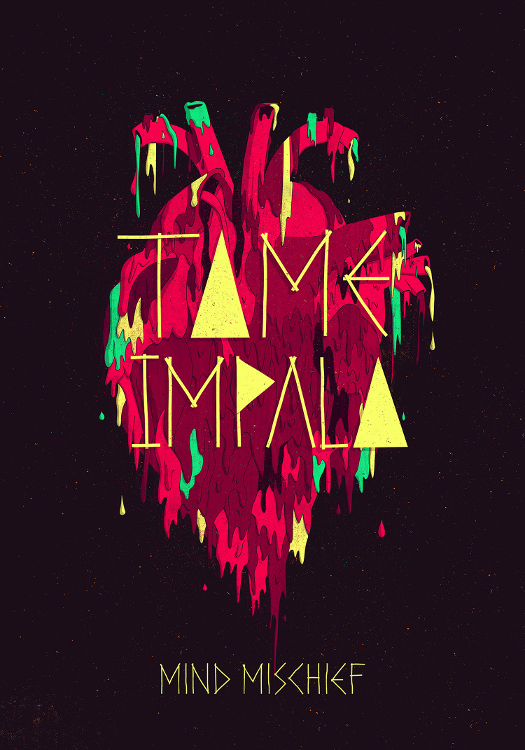 Tame Impala Mind Mischief Jose Berrio Graphic Design